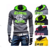 Slim,blusão,moletom,manga Comprida Sport, Importado,jaqueta,