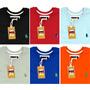 Kit 6 Camisetas Masculina, Sheepfyeld Logo Bordada E Metal