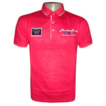 Camisa Polo Paul & Shark Vermelha Ps55