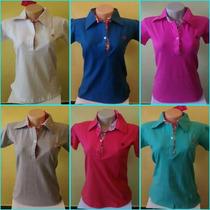 Camisa Polo Hollister Feminina