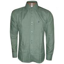 Camisa Social Ricardo Almeida Verde Ra888
