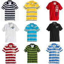 Camisa Camiseta Gola Polo Aeropostale - Várias Cores @@