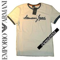 Camisa Armani Jeans Young P, M, G, Gg E Ggg D&g Ea Ga Armani