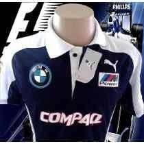 Camisa Bmw Williams F1 Team (compaq) Polo Confira