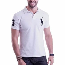 Kit 50 Camisas Polo Masculina Tommy Ralph Hollister Atacado