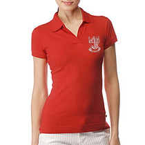 Camisa Polo Feminina Bordada - Uniforme