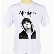 Camisa Camiseta Customizada Dj Afrojack Rap Masculino