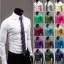 Kit Com 6 Camisas Social Varias Marcas E Modelos