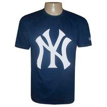 Camiseta New York Yankees Baseball Azul Marinho