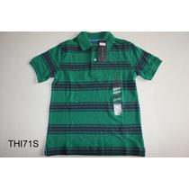 Camisas Menino Polo Infantil Tommy Hilfiger Pp P M