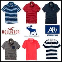 Camisas Polo Hollister Abercrombie Aeropostale - Importadas