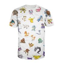 Camisa Geek Pokemon - Camiseta Nerd Anime Pikachu Desenho