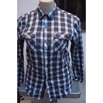 Camisa Da Zara Man Xadrez Made In Argentina Tam G