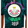 Carnaval 2016 - Camiseta Da Mangueira 2016