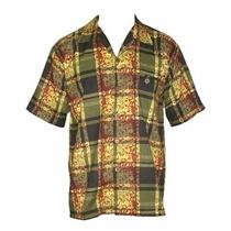 De R$54,90 Por R$39,90 - Camisa Botão Reggae Kandysk
