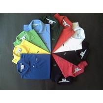 Camisa Camiseta Gola Polo Infantil Lacoste 4 A 10 Anos