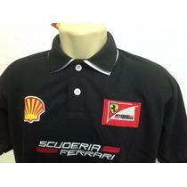 Camisa Pollo Ferrari