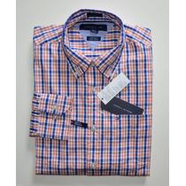 Camisa Social Tommy Hilfiger: Tamanho Ggg Xxl Manga Comprida