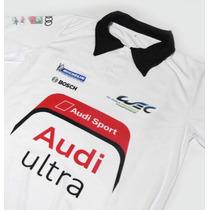 Camisa Pólo Dry Fit - Estampa Audi Ultra Sport Wec - Es147