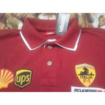 Camisa Polo Ferrari Masculina + Frete Grátis