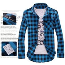 Camisa Xadrez Casual - Pronta Entrega