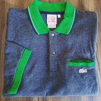 Camisas Polos Lacoste Originais Vários Modelos - Promoção!!