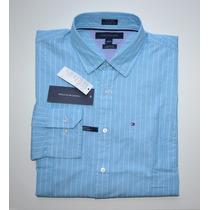 Camisa Social Tommy Hilfiger: Tamanho M / M Manga Comprida