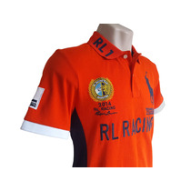 Camisas Polo Ralph Lauren Rl Racing Laranja / Verde