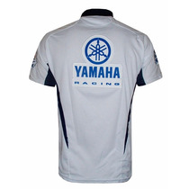Camisa Polo Puma Yamaha Racing Branca Frete Gratis