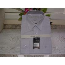Camisa Social Masculina M. Long Tam 4 Cor Cinza Cla 100% Alg