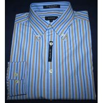 Camisa Social Gant Listrada Regular Fit Tam. M