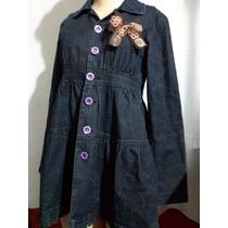 Blusa Jeans Jovem Linda. ._. Único Tipo ._. Cód 2.5