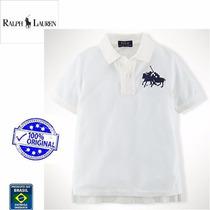 Camisa Polo Original Ralph Lauren Infantil Menino Importada
