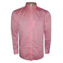 Camisa Social Calvin Klein Rosa