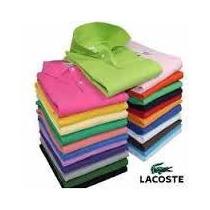 Kit 10 Camisas Polo Masculina Camisetas Polo Lacoste