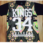 Camisa Kings 34 Sneakers Floral (colorida) Importada Origina