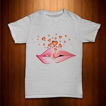 Camisas Estampas Amor & Love