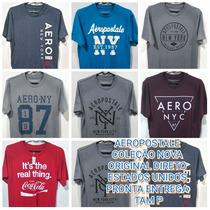 Camisetas Aerpostale Pronta Entrega Original Direto Usa