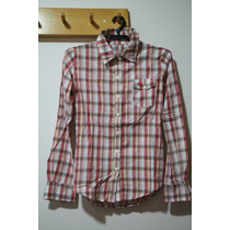 Camisa Fem Xadrez Ecko Red - Tam P