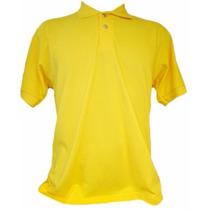 Camisa Polo Masculina Lisa Cores Tamanho Especial