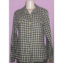 Camisa Blusa Xadrez Feminina Flanela Festa Country Cowboy