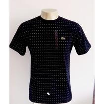 Camiseta Lacoste Live Kit/6 Frete Grátis