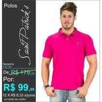 Camisa Polo Saint Patrick´s P Ao Gg Piquet ( Pink )