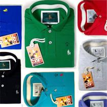 Kit 7 Camisas Polo Masculinas Qualidade Importada Original