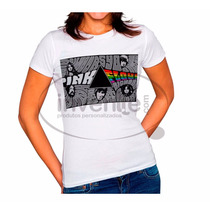 Camiseta Baby Look Feminina Pink Floyd