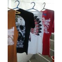 Camisas De Malha Estampadas Marca Bonbini