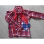 Camisa Xadrez Caipira Festa Junina Infantil