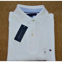 Camisa Tommy Hilfiger Polo M Curta Masculina 100% Original