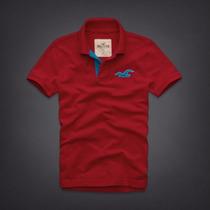 Camisa Polo Masculina Camiseta - Hollister - Vários Modelos