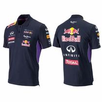 Camisa Polo F1 Original Oficial - Vários Tamanhos - Red Bull